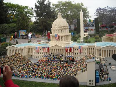 The Obama Inauguration at Legoland
