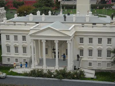The White House at Legoland