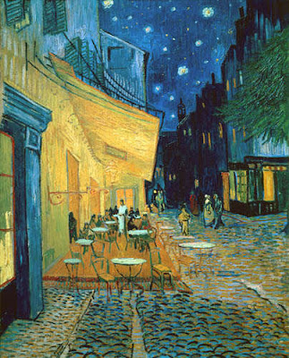 Cafe Terrace at Night, Van Gogh