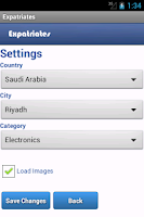 Screenshot of Buy & Sell for Expatriates