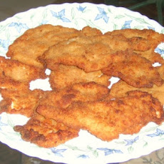 Egyptian Chicken Panne (Breaded Fried Chicken Breasts)
