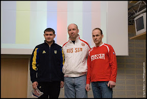 IWKL Munich 2010. Omelchuk (2nd), Isakov (1st), Gontcharov (3rd).