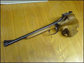 Baumanets Kh-1MT free pistol prototype