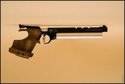 Foto: Die Luftpistole Steyr LP10