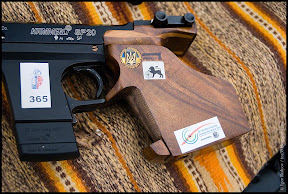 Photo: Custom wooden grip for SP20 by Nijazi Ibrahimov