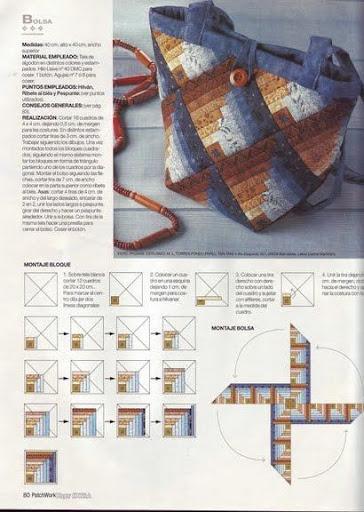 Печворк.  Схемы блоков для создания композиций.  Linat.  Цитата сообщения.