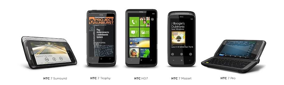 htc windows phone 7