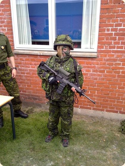 Mig i militærudstyr