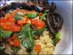 Portabello Mushroom and Quinoa Delight 004
