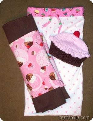 cupcake baby set