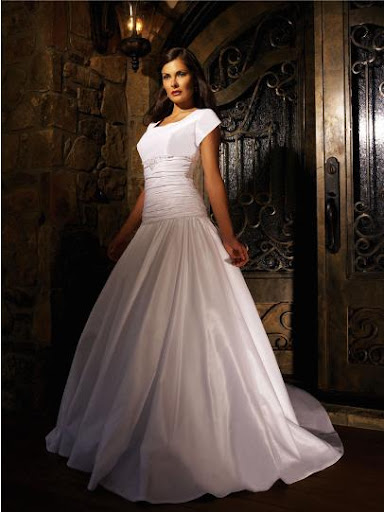 443321# ; Modest Bridal Gowns - Wedding Dress