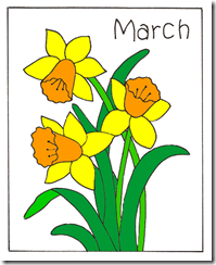march daffodil YES col