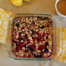Lemon-Berry Baked Oatmeal