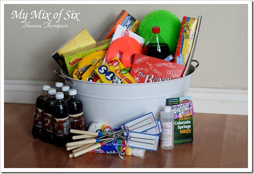 End of School Basket