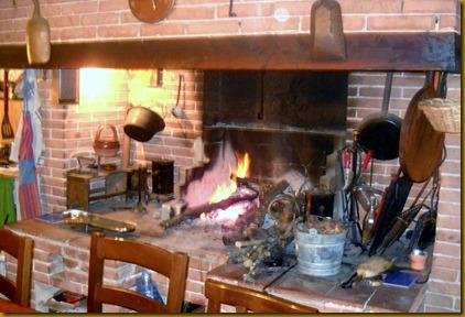 Cucina di marion scuola di cucina girarrosto for Colline o cabine marroni