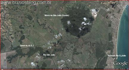 Barra de Sào João e seu Vulcão