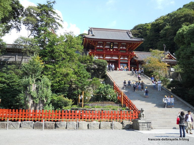 Sanctuaire principal de Tsurugaoka Hachiman-gū