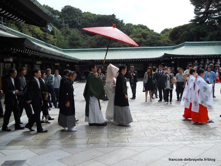 Mariage au sanctuaire Meiji