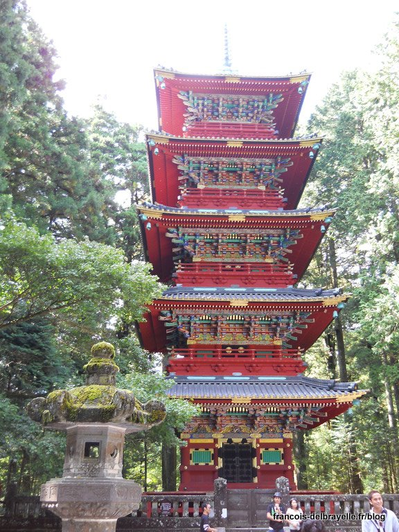 Pagode à 5 étages du Toshogu