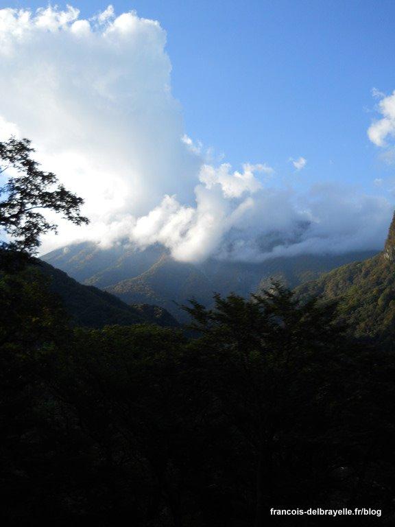 Vers le lac Chuzenji