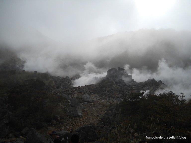 Fumerolles de Owakudani