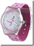 pinkribbon watch