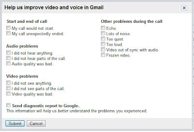 Google Talk: Bewerten Sie die Qualität des Gespräches