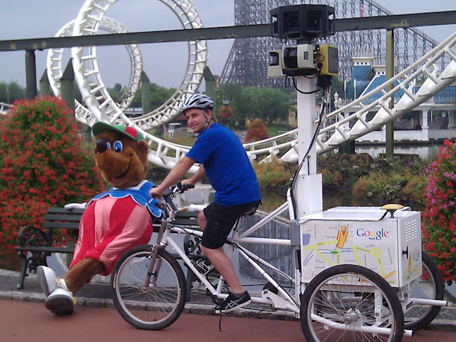 Street View im Freizeitpark: Geht auch in Deutschland