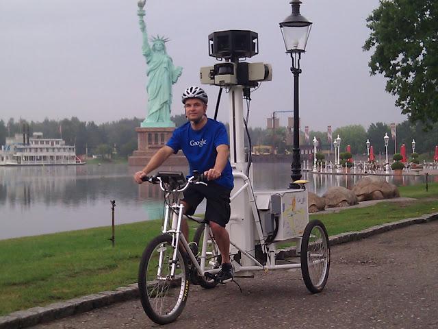 Street View - auch bei mäßigem Wetter unterwegs