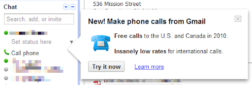 Gratis anrufen - allerdings nur in den USA und Kanada