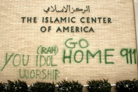 Muslims go home