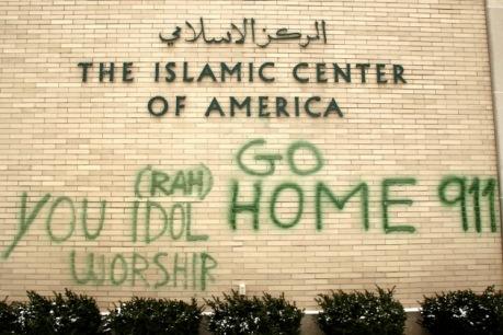 Muslims go home