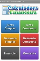 Screenshot of Calculadora Financeira
