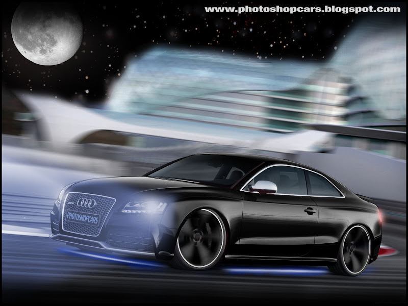 Novo Audi RS5 2011 tuning, rebaixado e virtual tuning