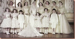 grace-kelly-bridal-party