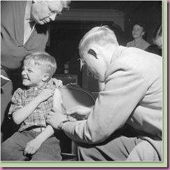 polio boy shot