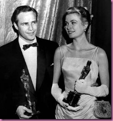 brando and grace kelly