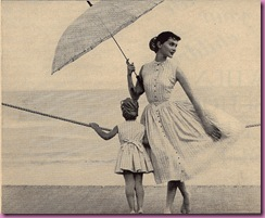 1955 fashion mother daughter