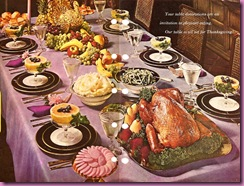 thanksgiving table cookbook