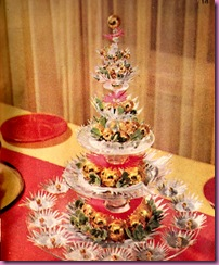 glass plate christmas tree 1