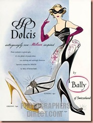 FASH1023, Dolcis Shoes, By Bally, 1956
