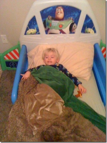Jack in Buzz Bed
