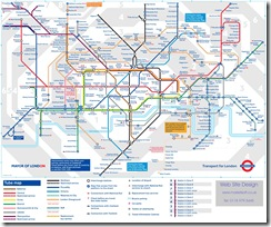 map of tube