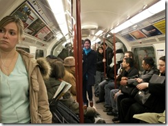 me on the tube