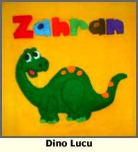 kaos dinosaurus