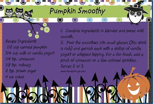 Just Sew Trish: Digital Recipe Cards – Cheerful Halloween Digital ...