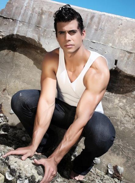 Cuba-born Pedro Moreno ~ Daily Male Models