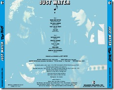Just Water - The Riff - Tray