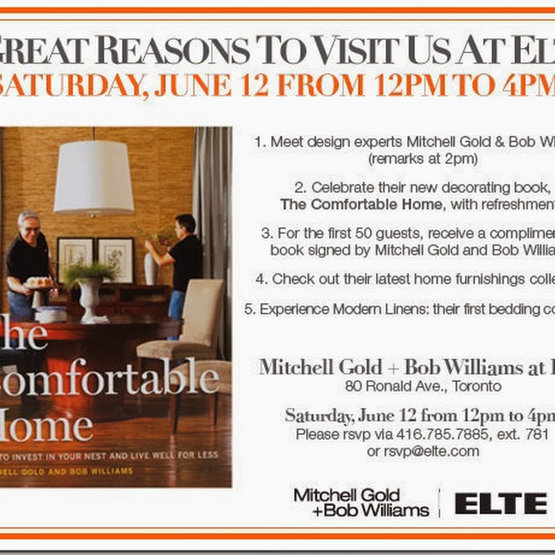 Mitchell Gold + Bob Williams at Elte