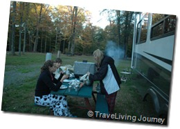 Camping at Secluded Acres